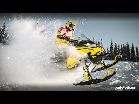 2019 Ski-Doo MXZ X 600R E-TEC Ice Ripper XT 1.25 in Moses Lake, Washington - Video 1