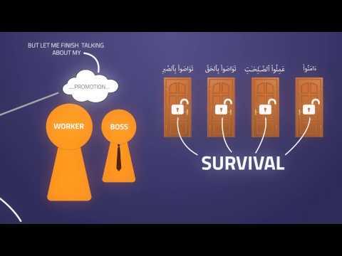 Success vs Survival | Surah Al-Asr | Pt  02 | Kinetic Typography