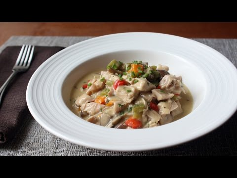Chicken à la King Recipe – Creamy Chicken