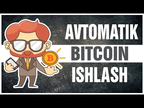 SARMOYASIZ  AVTOMATIK  BITCOIN ISHLASH/ADBTC BOT