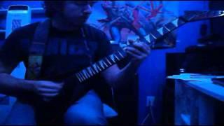 Exciter - Scream In The Night (guitar cover)