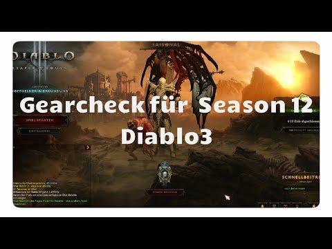Diablo 3: Gearcheck für Season 12