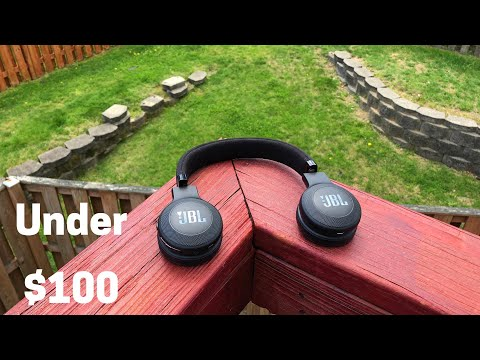 BIG BASS! JBL E45BT Wireless Headphone Review