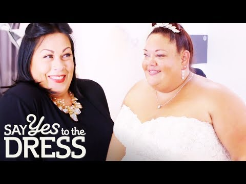 Bride Is Terrified That She Won't Find A Dress Which Fits Her! | Curvy Brides Boutique