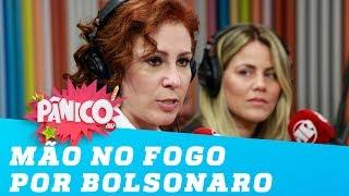 'Eu ponho minha mão no fogo pelo Bolsonaro'