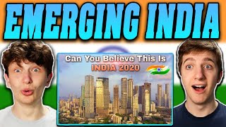 Americans React to Emerging India The Rising Superpower | Emerging India 2020 |
