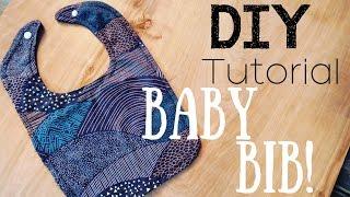 MAKE YOUR OWN BABY BIBS! [DIY TUTORIAL]