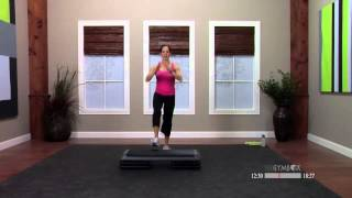 Step aerobics beginner workout with Dana - 30 Minutes by thegymbox