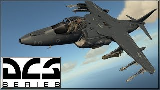 DCS 1.5 - AV-8B - Online Play - Sowing the S.E.A.D