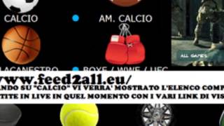 TUTORIAL #1 Link streaming Calcio GRATIS!! [Anche in HD]