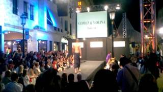 Desfile Gomez y Molina. MARBELLA LUXURY WEEKEND'11