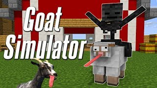 Monster School : GOAT SIMULATOR CHALLENGE - Minecraft Animation