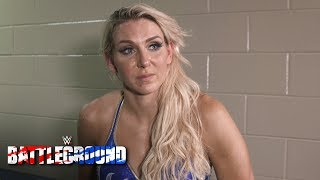 Charlotte reveals what may have cost her the Fatal 5-Way at WWE Battleground: July 23, 2017