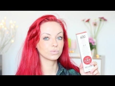 Rote Haare auffrischen [Revlon Nutri Color Creme]+Update Haarfarbe | Mermaid_xo