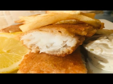 HOW TO MAKE CRISPY FISH AND CHIPS – FISH FRY – BEER BATTERED FISH – STORHANZ COOKING CHANNEL