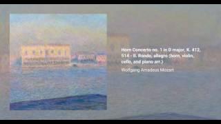 Horn Concerto no. 1 in D major, K. 412, 514