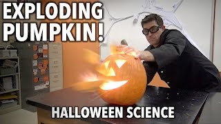 Exploding Pumpkin and other Halloween Science Experiments