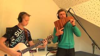 The House of the Rising Sun - Jannik & David Döring | Panflute & Guitar | Panflöte & Gitarre