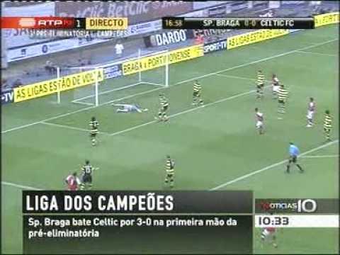 Braga 3-0 Celtic