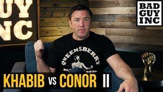 Khabib Nurmagomedov REFUSES to fight Conor McGregor... in a cage.