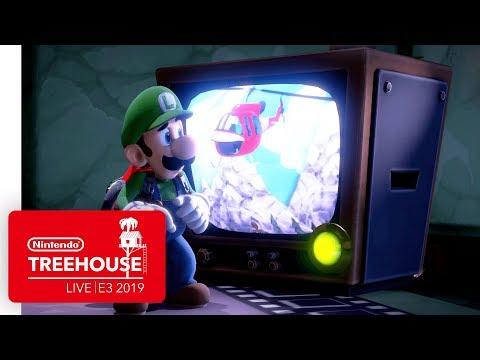 Luigi's Mansion 3 Gameplay Pt. 1 - Nintendo Treehouse: Live | E3 2019 thumbnail