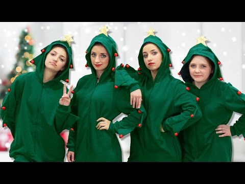 Why are We Dressed Up Like Christmas Trees? | 12 Days of Vlogmas {Day 6} | Brooklyn and Bailey