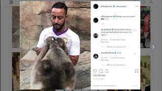 Lacrim était Rattraper Par Un Lion A Dubai  Lacrim Was Catching Up With A  Lion In Dubai