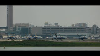 Blue Angels Depart From Boston!