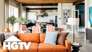 This Mountain Retreat Could Be Yours! Tour | HGTV Dream Home (2019) | HGTV