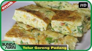 Gambar cover Resep Masakan Dadar Telur Goreng Khas Padang Gampang Dipraktekkan Recipes Indonesia Bunda Airin