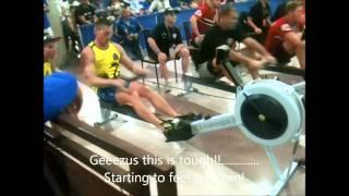 2011 WPFG Mens Heavyweight Senior B Indoor Rowing Final