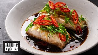 Steamed Soy & Ginger Fish - Marions Kitchen