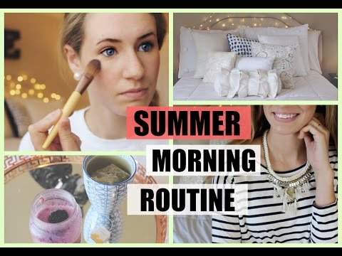 Summer Morning Routine 2015 || Emery