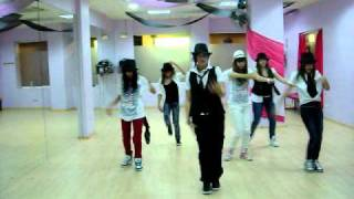 coreografia Funky Hip-hop grupo 2 Fallon & Felisha-Infected