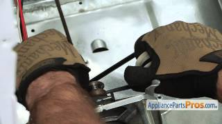 Dryer Idler Pulley (part #WE12X83) - How To Replace