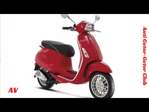 Vespa Sprint i-Get 2016 Review Indonesia
