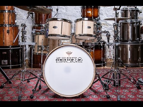 Zebra Drums Free Floating 5-Piece Shell Pack – Drummer's Review