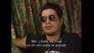 Slash's Snakepit - French tv 1995 interview (rare footage)