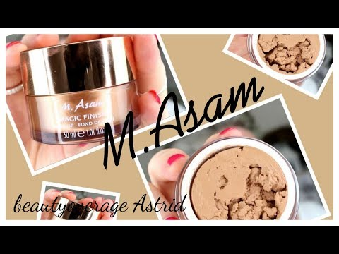 M.Asam | MAGIC FINISH MOUSSE Make-Up | Live/demo | Beautyoverage Astrid Mp3