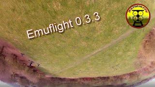"""Emuflight 0.3.3 with """"Schnotte FPV"""" PID tune   Steele 5"""" Frontflip landing ;-)"""