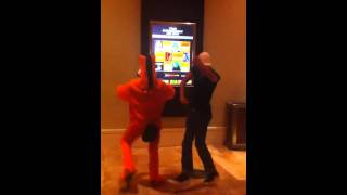 Grant dancing with Pokey - Video Youtube