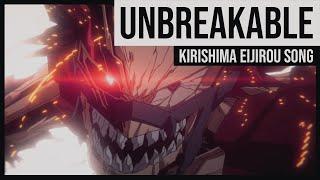"Original ""Unbreakable"" for Eijirou Kirishima in My Hero Academia (Kohei Horikoshi)"