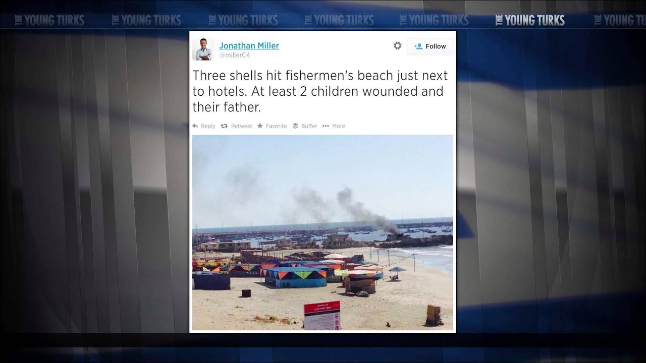Kids Playing On Beach Shelled By Israeli Navy [Extremely Graphic] thumbnail