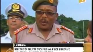 preview picture of video 'Cuba: Delegación militar de Sudáfrica rinde tributo a Antonio Maceo y Panchito Gómez Toro'