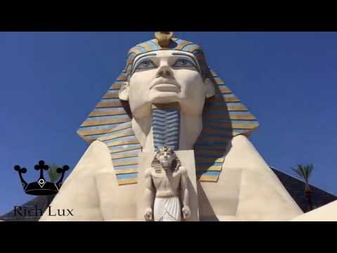 Luxor Las Vegas  Hotel Room Suite REVIEW