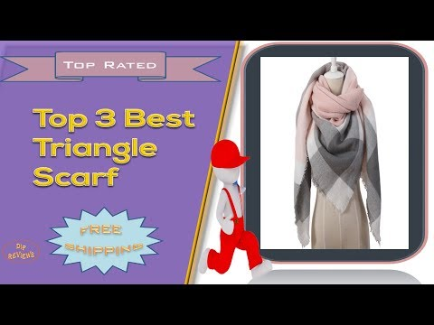 Top 3 Best Triangle Scarf Reviews | Cashmere Plaid Scarves