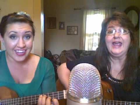 "Mother/Daughter Duet - Becky & Claudia sing ""Sugar Cookie Man"""
