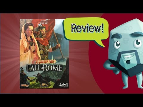 Pandemic: Fall of Rome Review - with Zee Garcia