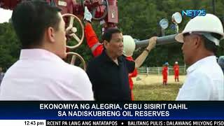 Discovered oil reserves in Alegria, Cebu to help PHL economy, says President Duterte
