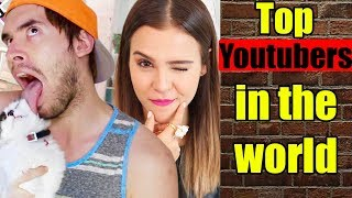 Top 10 Youtubers in the World